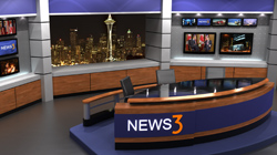Virtual Set Design for TriCaster